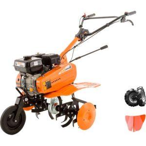 Pachet Motocultor Profesional  Ruris DAC 7000K + roti cauciuc + rarita