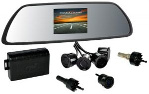 Senzori de Parcare PNI P05, cu Afisaj in Oglinda si Camera Marsarier