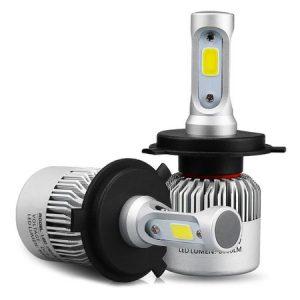 Set 2 LED-uri Auto H7 72w 8000 Lumeni 6500k S2