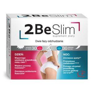 Tablete de slabit 2Be Slim cu Extracte Naturale