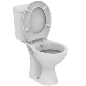 Vas WC cu functie de bideu Vidima SevaFresh 37x66 cm, monobloc, Capac si Rezervor Inclus