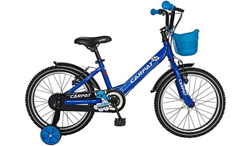 Bicicleta Baieti CARPAT C1801C, Cadru Otel, Varsta 5-7 ani