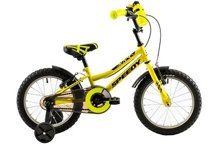 Bicicleta Copii DHS 1603 Galben