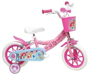 Bicicleta Copii Mondo cu Roti Ajutatoare - Disney Princess