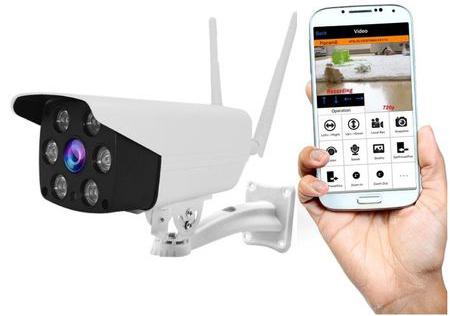 Camera de Supraveghere IP WIFI BabyToy, Conectare Telefon