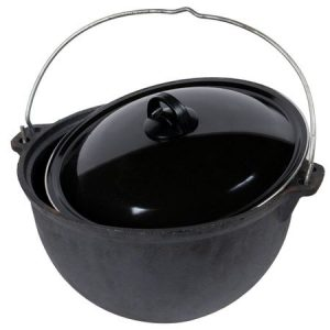Ceaun Traditional OTI Pentru Gatit in Exterior, Fonta, 16 L