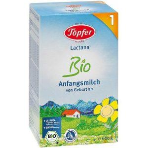 Formula de Lapte Praf Bio 1, Topfer, 600 g, de la Nastere