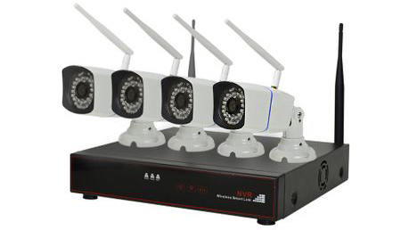 Kit Supraveghere Video PNI House WiFi 400 NVR