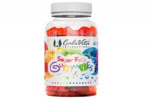 Sugar Free Gummies CaliVita 100 Jeleuri Multivitamine Naturiste Mestecabile Pentru Copii