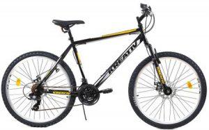 Bicicleta MTB Kreativ 2605 500mm Portocaliu 26