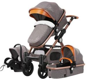 Carucior Multifunctional 3 in 1, Dubla Suspensie