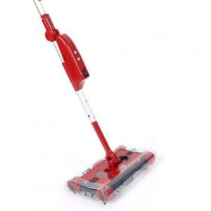 Matura rotativa electrica fara fir Swivel Sweeper G6 Pro, rosu,