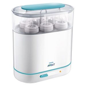 3-IN-1 Sterilizator Electric cu Aburi Philips-AVENT