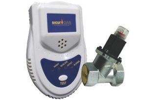 Kit SICURGAS Detector de Gaz cu Electrovalva 1