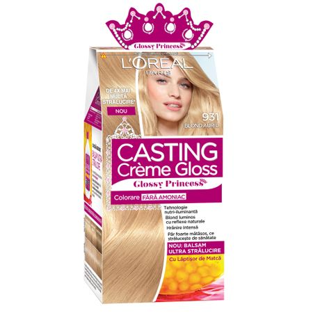 Vopsea de Par Semi-permanenta Fara Amoniac L'Oreal Paris Casting Creme Gloss Glossy Princess