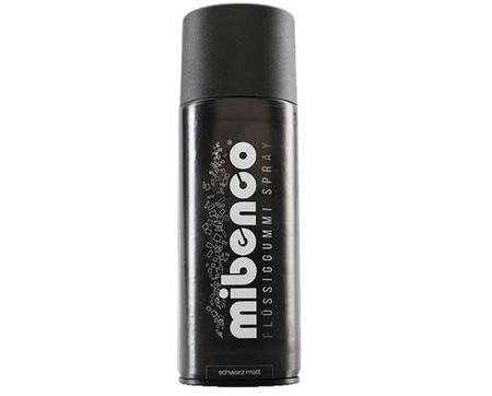 Spray Vopsea Cauciucata Mibenco din Germania, Negru Mat, 400 ML