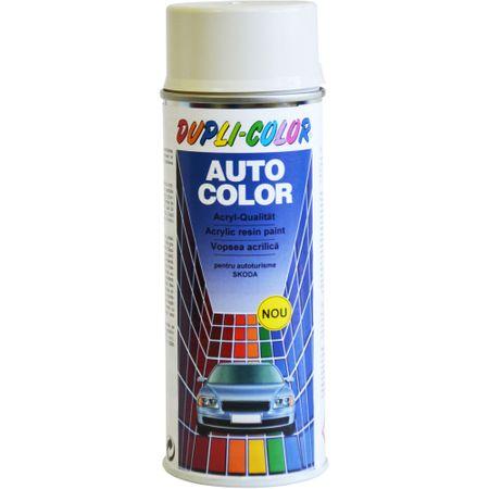 Vopsea Auto Dupli-Color Skoda, Alb Candy 1026, 400ml