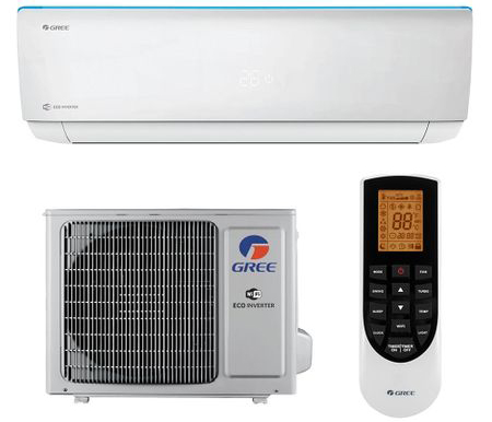 Aparat de Aer Conditionat Gree Bora A4 R32 Inverter 24000 BTU