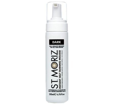 Spuma Autobronzanta Profesionala ST MORIZ Instant Tanning Mousse - Dark, 200 ml