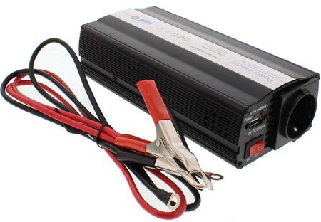 Invertor de Tensiune Well, 600W, 12V, USB