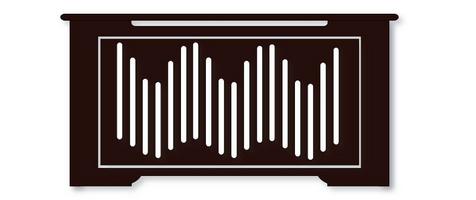 Masca Calorifer din Lemn, Wenge