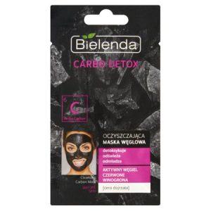 Masca Detoxifianta Bielenda, Carbo Detox, cu Carbune Activ Pentru Curatarea Tenului Matur