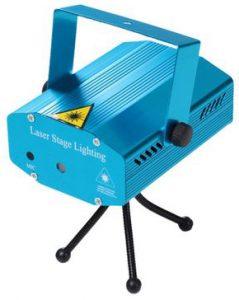 Proiector Laser Soundvox, cu Stele Miscatoare si Joc de Lumini, Albastru