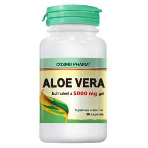 Supliment Alimentar Aloe Vera, 30 cps