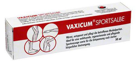 Vaxicum Sport Unguent, 50 ml Antiinflamator