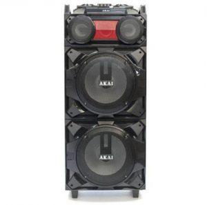 Boxa Audio AKAI, Portabila, Profesionala puternica, Microfon Wireless, Telecomanda