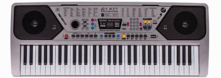 Orga Electronica Cu 61 De Clape, 100 De Ritmuri, 100 De Tonuri, 10 Melodii Demo