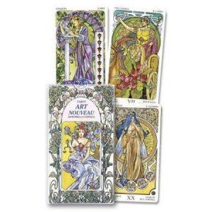 Tarot Art Nouveau Deck - Antonella Castelli, Lo Scarabeo, Pietro Alligo