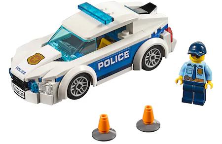 LEGO City Police - Masina de Politie Pentru Patrulare