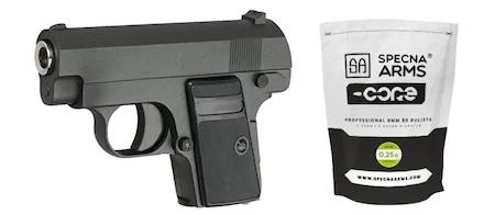 Pistol Airsoft Colt C1 Ful Metal Plus 1000 de Bile