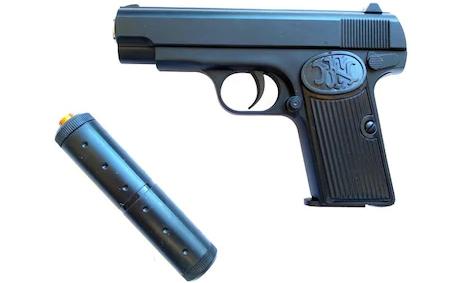 Pistol Airsoft Metalic Arc Spring K17A Cu Amortizor