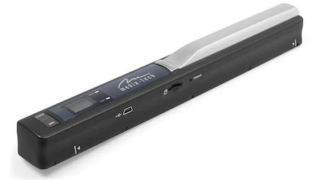 Scanner Portabil Media-Tech, Color, A4, Software OCR si Husa Incluse