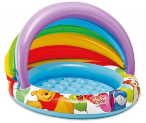 Piscina Copii cu Parasolar Winnie, 102 x 69 cm
