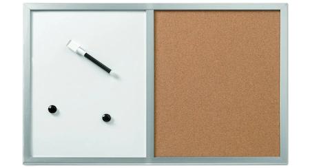 Tabla Magnetica Herlitz, 40x60 cm, 2 Magneti si Marker