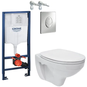 ALL IN ONE Incastrat - Grohe + Cersanit Delphi - Gata de Montaj