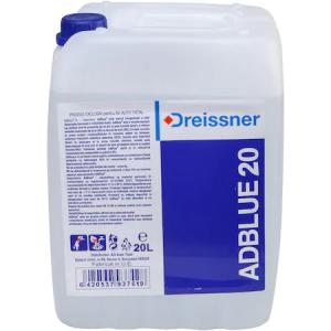 Aditiv AdBlue cu Palnie Umplere, 20L, Pentru Motoare Diesel Euro 6, Dreissner