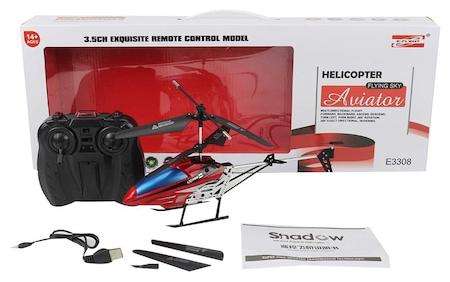 Elicopter Aviator cu Telecomanda, RayaLand, Rosu