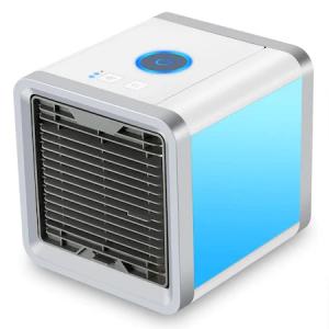 Mini Ventilator cu Apa Portabil Techstar Personal 10W Umidificator cu Alimentare prin USB pentru Birou si Acasa