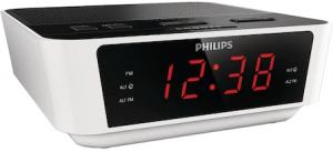 Radio cu Ceas Philips AJ311512, Digital, FM, Alarma Dubla