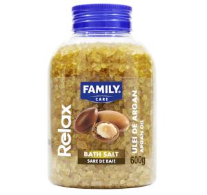 Sare de Baie Family Argan oil, 600 g
