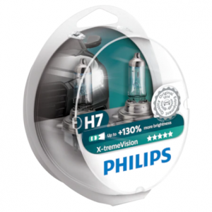 Set 2 Becuri Auto far Halogen Philips H7 Xtreme Vision