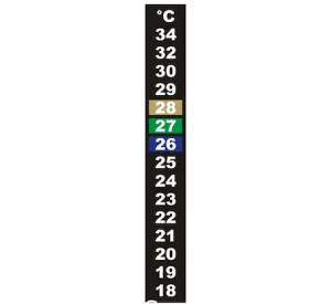 Termometru de Banda cu Christale Lichide Pentru Camera