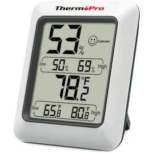 Termometru si Higrometru de Camera ThermoPro TP-50 Pro, ecran 2.7 inch, Indicator Comfort