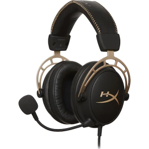 Casti Gaming HyperX Cloud Alpha Gold Limited Edition