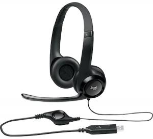 Casti Logitech H390, USB