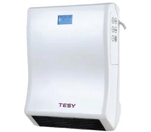 Aeroterma de perete TESYHL 246 VB W, pentru baie, 2000 W, display LCD, programator saptamanal, ERP 2018